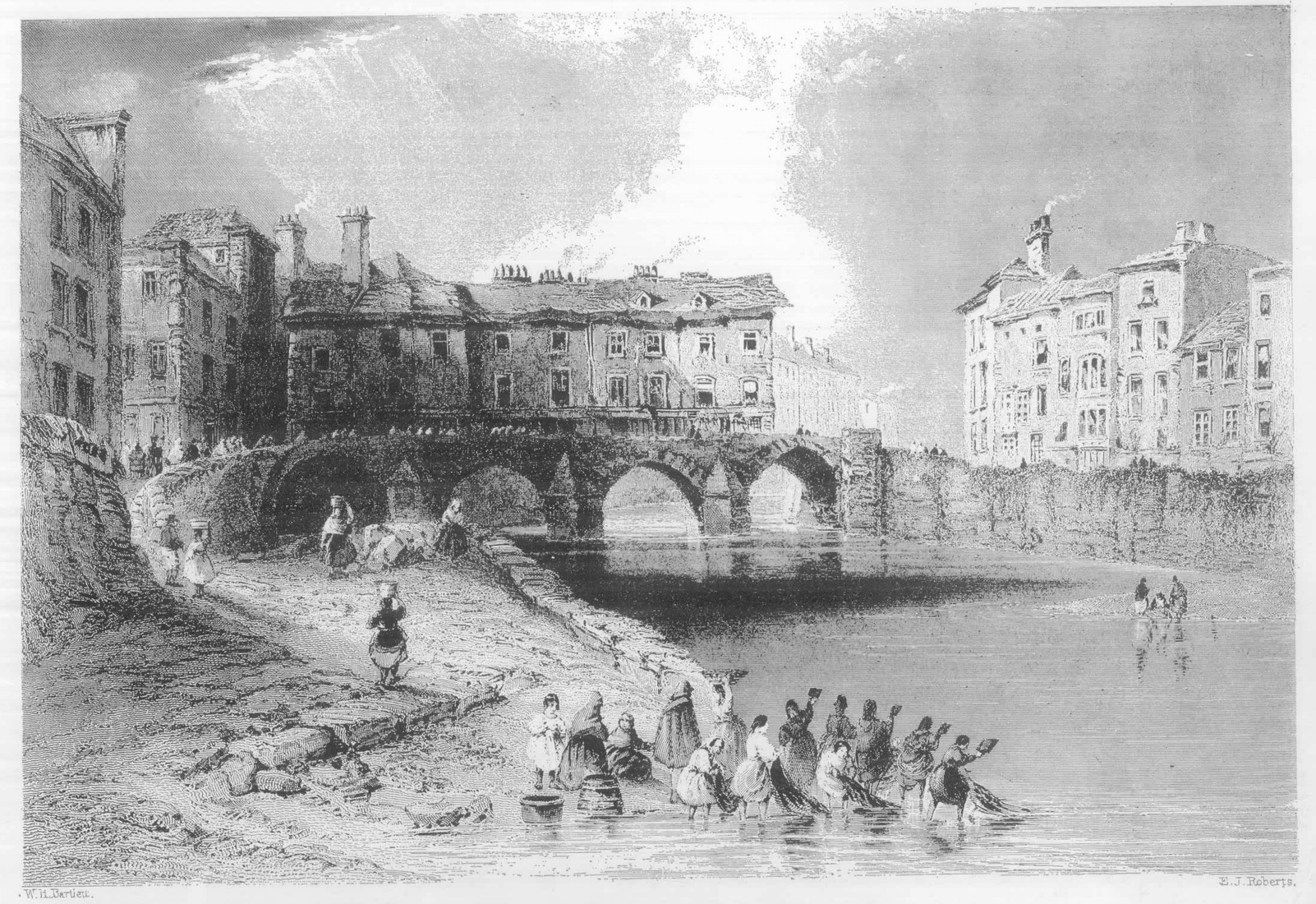 Old Stone Bridge Drawing Drawing of Old Baal 39 s Bridge