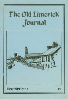 Cover of Old Limerick Journal, vol. 1