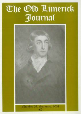 Cover of Old Limerick Journal, vol. 37