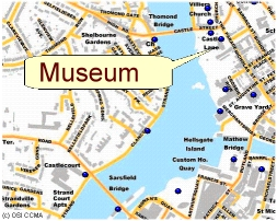 Museum Map Thumbnail with Link to the live map